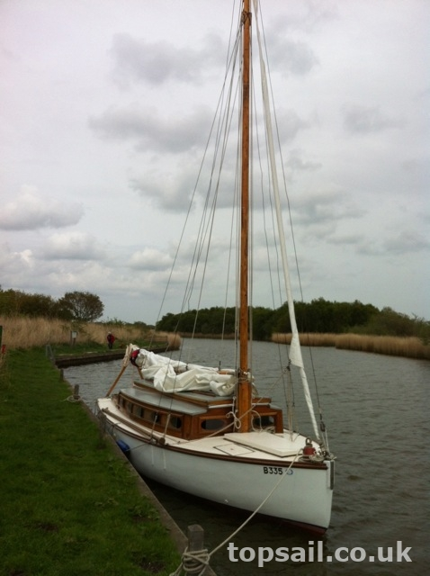 Japonica Broads Yacht