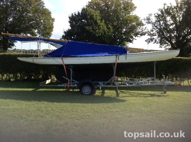 GRP Broads One Design (BOD) & Trailer