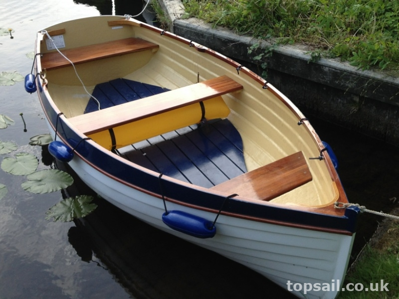 GRP Clinker Rowing Dinghy