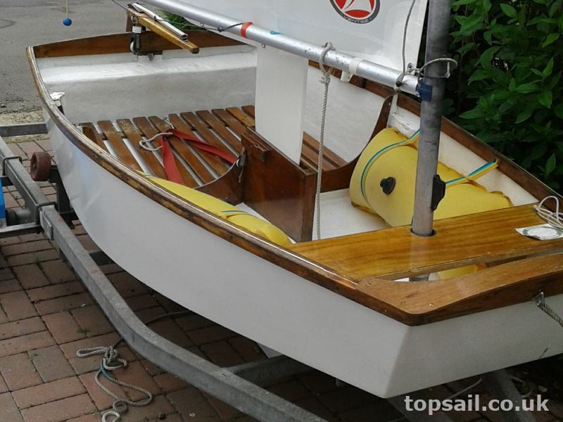 GRP Optimist Sailing Dinghy
